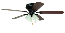 "Ellington Fan BRC52ORB5C - Brilliante with 4-light Kit 52"" Ceiling Fan with Blades and Light in Oil-Rubbed Bronze"